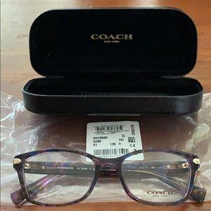 Coach eyeglass frames brand new.